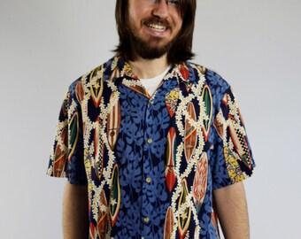 Vintage Authentic Hawaiian Shirt / Large etsyh4