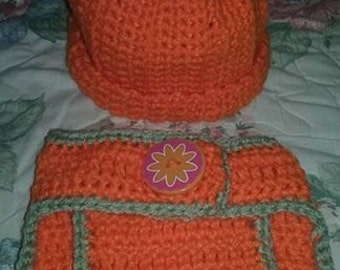 Newborn Pumpkin Baby Set!