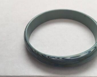 Blue Marble Bangle