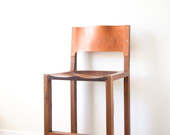 Leather Back Bar Stool  sc 1 st  Etsy & Leather bar stools | Etsy islam-shia.org