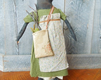 Raven Crow Margaret Primitive Doll