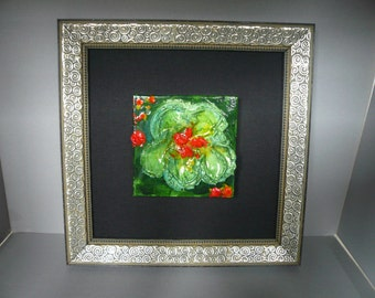 Original floral painting on canvas: No. 23