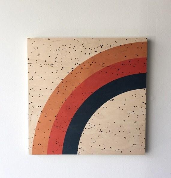 ARC wood art print