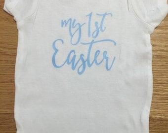 My First Easter baby onesie, Easter baby onesie, bodysuit