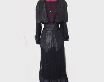 Authentic Antique Edwardian Dress 1910-1915