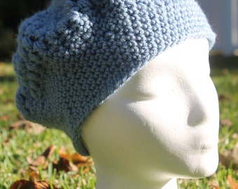 Crochet hat beret