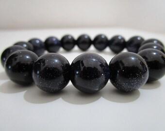 Sandstone blue Aventurine bracelet, bracelet semi-precious stones, gift, gift for woman,Gemstone bracelet