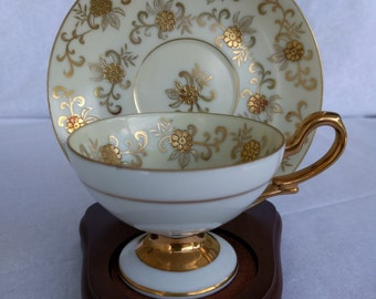 DEMITASSE CUP AND Saucer, Occupied Japan, Vintage, Collectible.