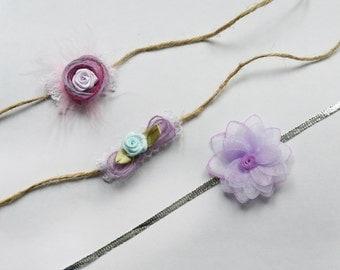tiebacks  headbands for newborn