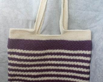 Crochet shoulder/ tote bag