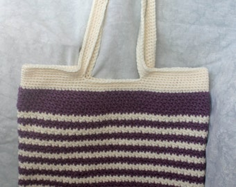 Custom Crochet shoulder/ tote bag