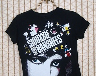 Siouxsie & the Banshees vintage and rare T-shirt, black tee shirt, One Upon A Time, The Creatures, Siouxsie Sioux, goth gothic