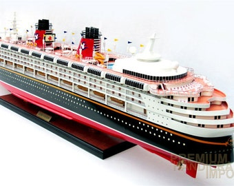 "Disney Wonder 40"" Cruise Ship Model"