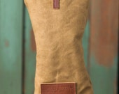 Personlized handmade Golf Headcover, Golf club Head Cover,  Waxed Canvas  golf gifts for men