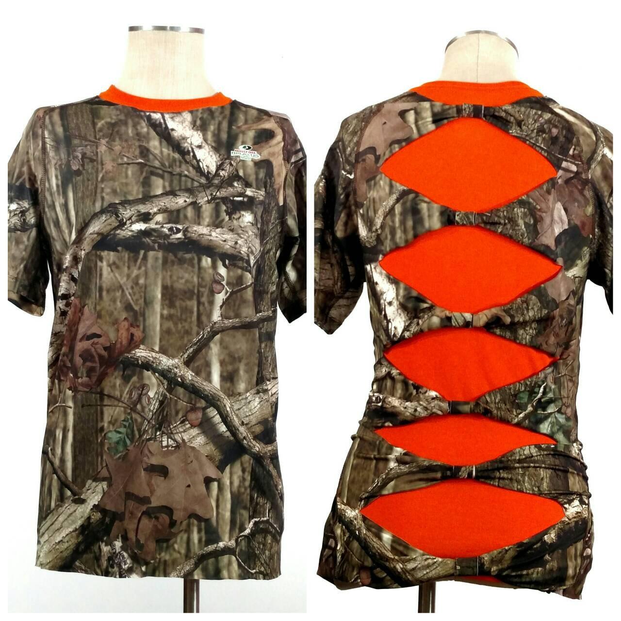 Realtree Camo Shirt Shredded Shirt Mossy Oak Camo Shirt
