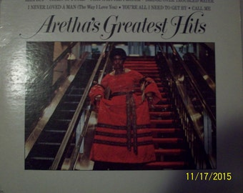 Areatha's Greatest Hits Vinyl Record
