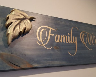 Winery Wooden Wall Sign