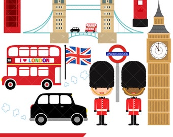 London clipart | Etsy | {Französische küche clipart 95}