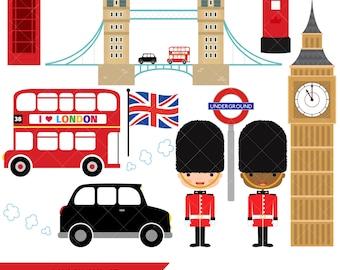 London Clipart / British Clipart / England