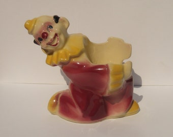 Shawnee Clown Planter, Jojo the Clown Planter