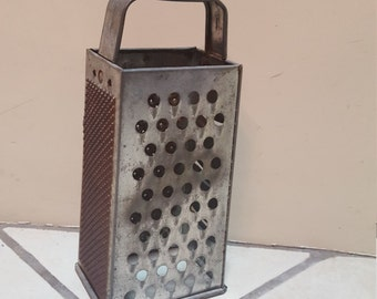 rusty cheese grater