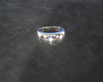 Vintage Sterling Silver Bubble Ring Size 7.25