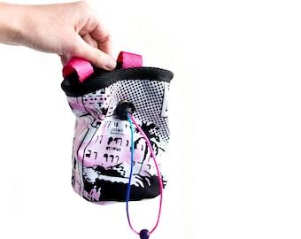 Lightweight Chalk bag. Rock Climbing Bag. Bouldering Bag Chalkbag, M Size