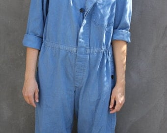 vintage 80s amazing flight suit coverall military style jumpsuit