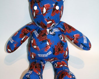 Spiderman Vintage Style Teddy Bear