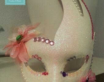 Glittery Carnival mask