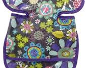 Lavender Flower Garden Apron Bib