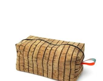 Cork Strips Cuboid Case - hannisch