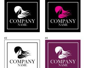Logo of hairdressing salon, personalized Logo, Hairstyle, Hairdresser