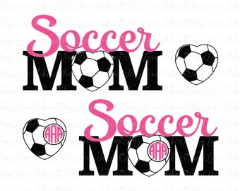 Soccer Mom Design for Silhouette and other craft cutters (.svg/.dxf/.eps/.pdf)