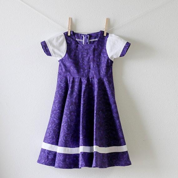 Girls dress 2t modest toddler dress prairie dress vintage