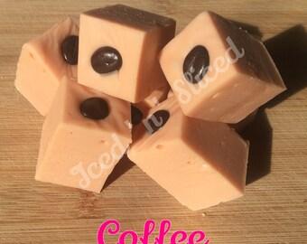 Coffee fudge - homemade sweet chocolate gift