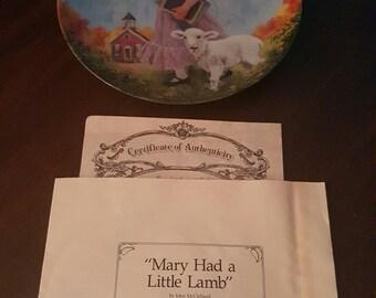 Mary Mary Had A Little Lamb
