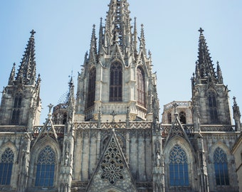 Cathedral (Barcelona, Spain) Print