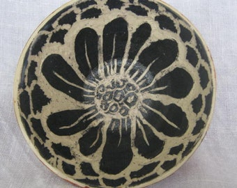 carved sgrafitto bowls