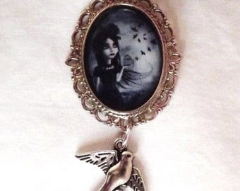 "Necklace ""Gothic young girl"""