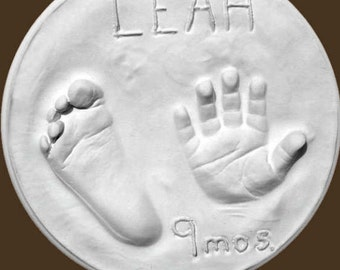 3D Baby hand and foot Impression Kit