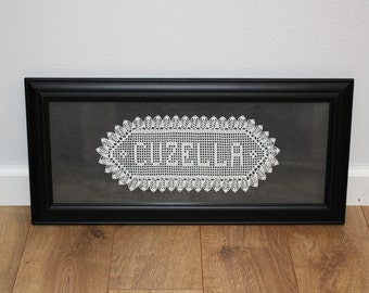 Crochet Wedding Gift