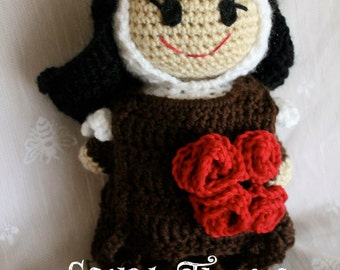 Saint Therese of Lisieux Crochet Pattern
