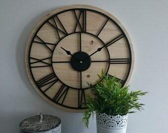 Wall clock handmade Ref: 011