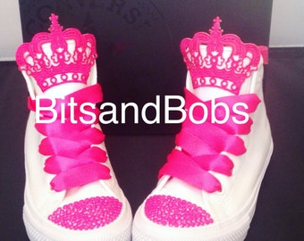 Customised Converse Chuck Taylor 2 Princess Birthday Shoe