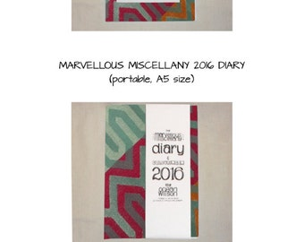 The Marvellous Miscellany Colouring Books and 2016 Diary