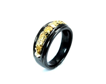 2435- Gold Nugget Band