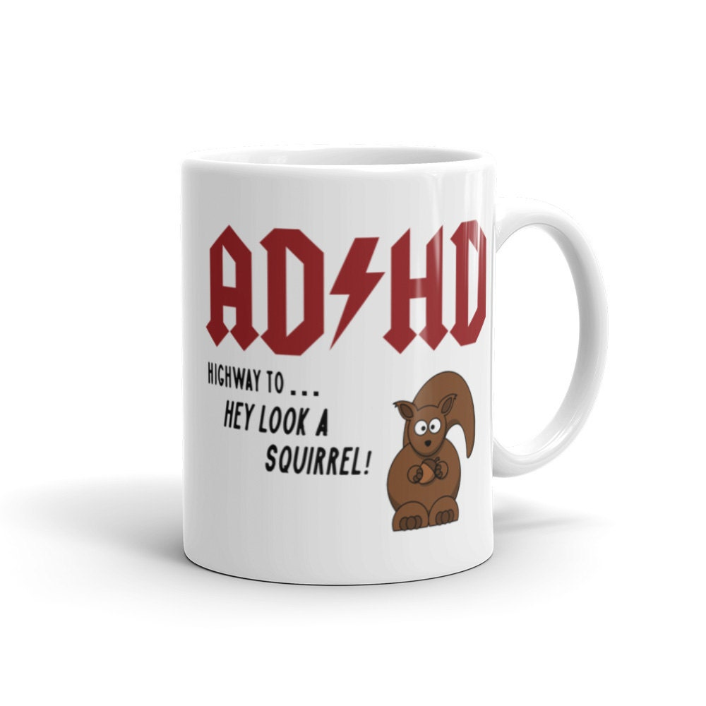 Funny Meme Coffee Mugs : Funny mug adhd add coffee