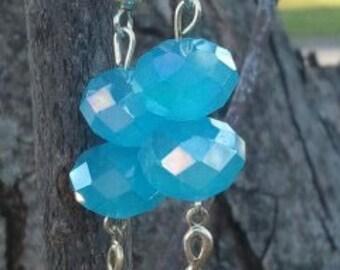 Blue Music Lovers Earrings