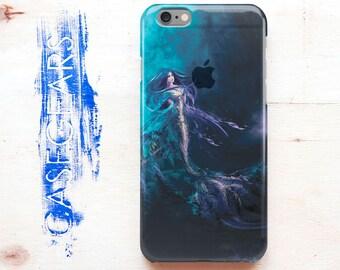 Cute Mermaid Phone Case Clear iPhone 5s Case Clear iPhone 6 Case Transparent iPhone 6s Case iPhone 5C Case for Samsung Galaxy S6 Case CG1035